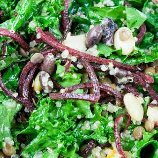 Kale and Bean Salad.