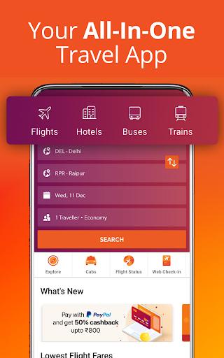 Cheap Flights, Hotel & Bus Booking App - ixigo screenshot 4