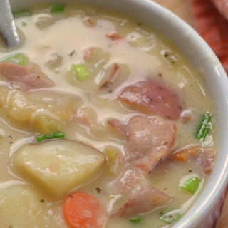 Creamy Potato & Ham Soup