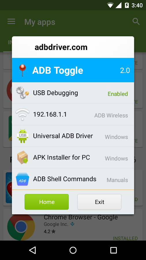 ADB Toggle- screenshot