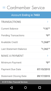Elan Credit Card - Android Apps on Google Play
