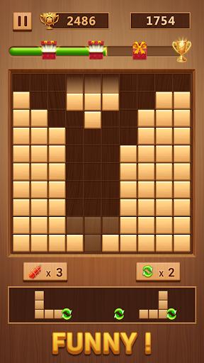 Wood Block - Classic Block Puzzle Game apktram screenshots 2