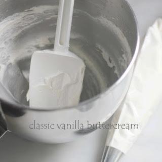 Vanilla Buttercream.