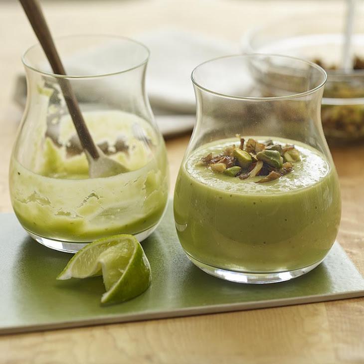 Smoky Avocado & Mushroom Drinkable Soup