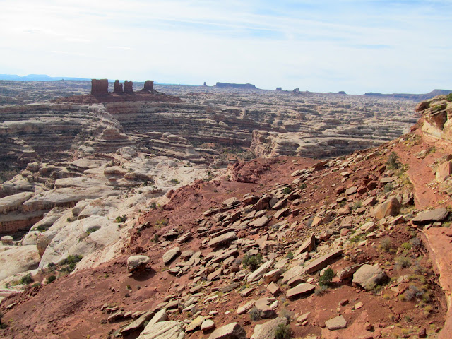 Chocolate Drops and Land of Standing Rocks viewed from the Maze Overlook