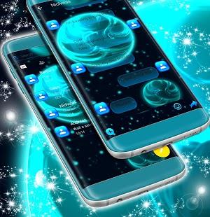 SMS Neon Témata - náhled