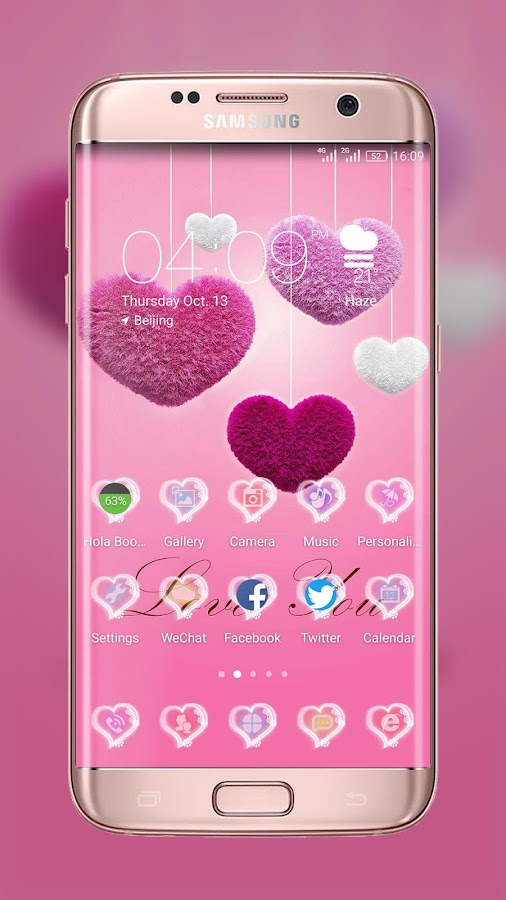 Love You! Best Launcher Theme — приложение на Android