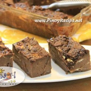Filipino Chocolate Bread Pudding Recipe