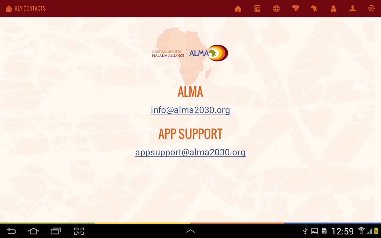 ALMA- screenshot