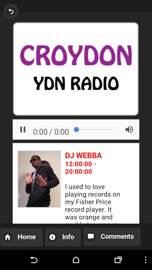 YDN Radio- screenshot