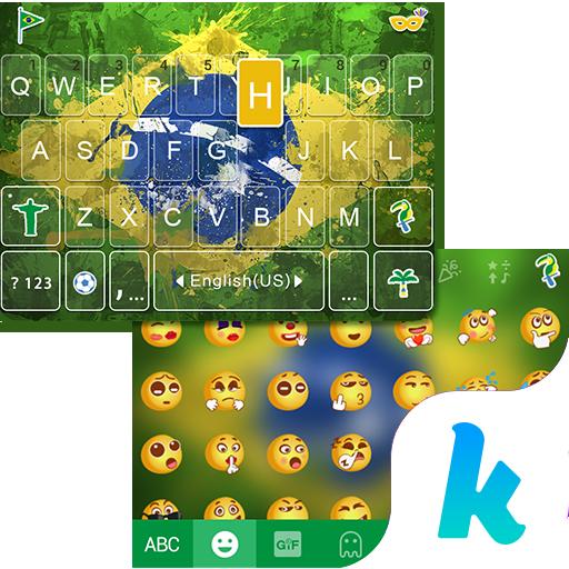 Brazil 2016 Kika KeyboardTheme
