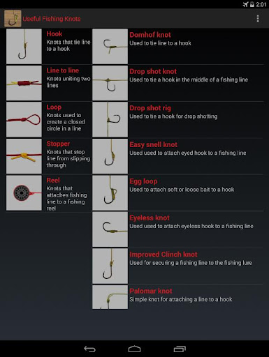 Useful fishing knots pro apk download only apk file for android useful fishing knots pro ccuart Image collections