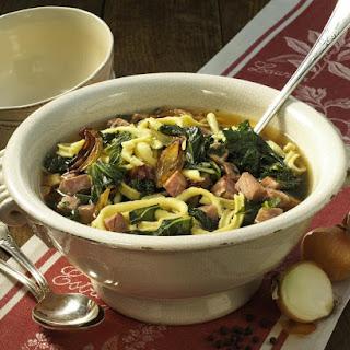 Kale Stew With Spaetzle