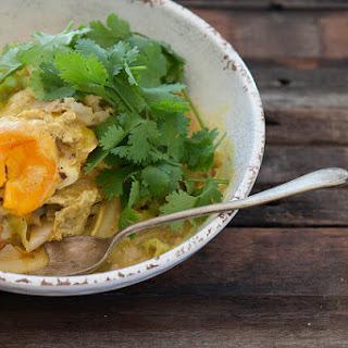 Malaysian Golden Egg Curry.