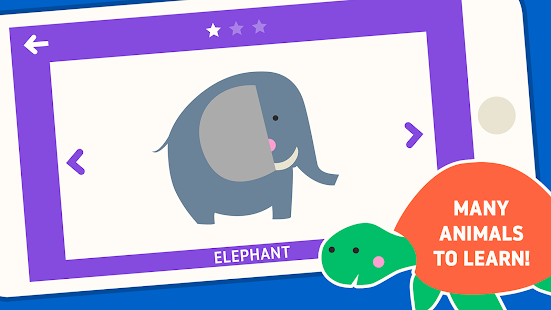 lernin: Animals fun educational games for kids - náhled
