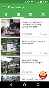 ColomosApp - náhled