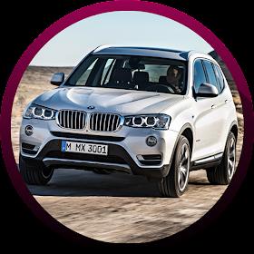 Автомобильные фотографии и видео BMW X3