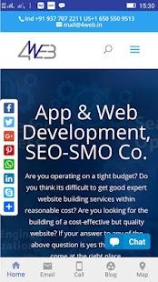 4web Development - náhled