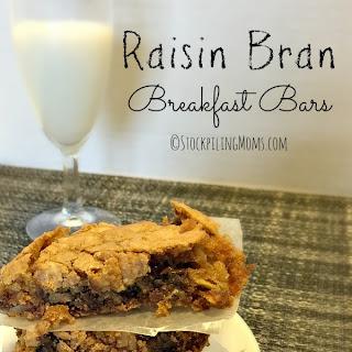 Raisin Bran Breakfast Bars