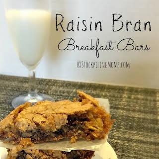 Raisin Bran Breakfast Bars.