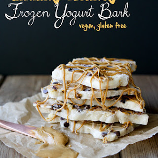 Vegan Chunky Monkey Frozen Yogurt Bark