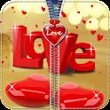 Heart Zipper Lock Screen icon