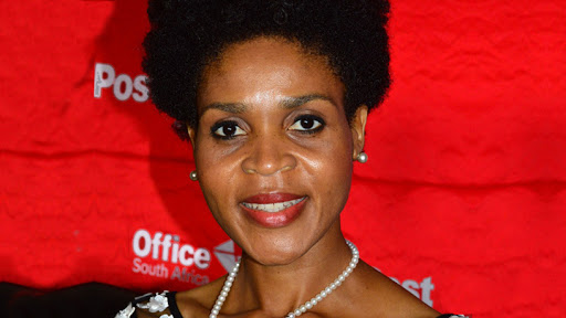 South African Post Office chairperson Colleen Makhubele.
