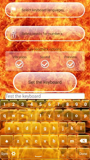 消防 键盘主题
