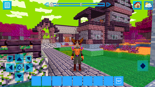 AlienCraft 3D Survive & Craft: Block Build Edition 2.3.3 APK MOD screenshots 1