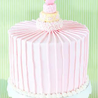 Confetti Cake with Chocolate Filling and Vanilla Buttercream.