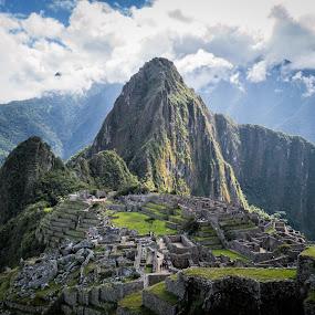 Machu Picchu revisited by Ruben Parra - Landscapes Mountains & Hills ( andes, peru, machu picchu, ruins, landscape, inca )