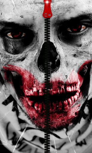 Zombie Zipper Screen Lock