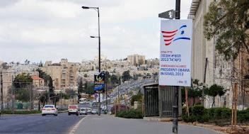 Photo: Obama poster in Jerusalem