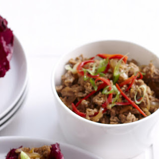 Pork and Chili Stir Fry with Water Chestnuts Recipe