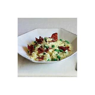 Risotto With Peas & Prosciutto