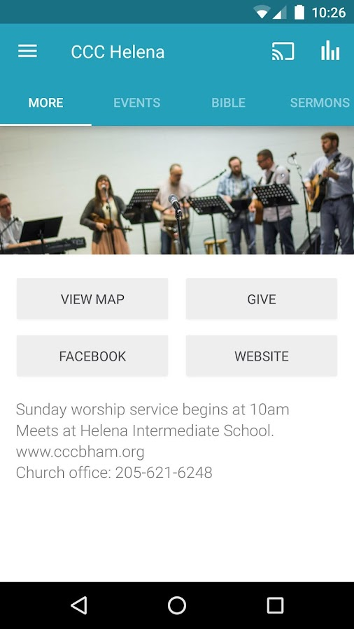 Christ Community Church - AL- screenshot