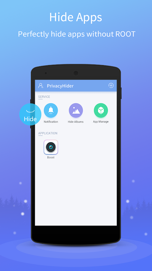 Hide App, Private Dating, Safe Chat - PrivacyHider- screenshot