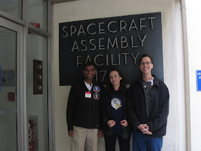 Photo: Laksen, Heather & Scott at the SAF