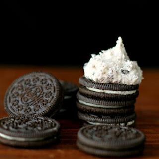 Oreo Cookies N' Cream Buttercream Icing Recipe