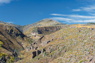 Photo: Upper end of Los Alamos Canyon