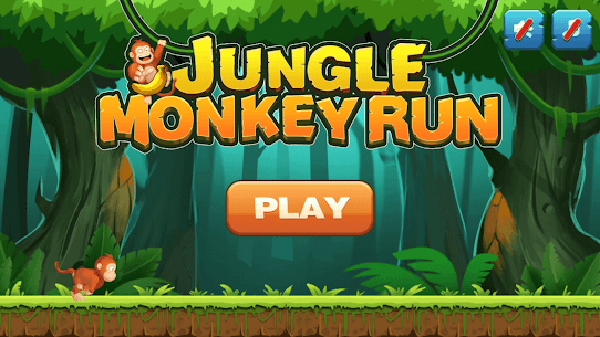 Jungle Monkey Run App Download For Android and iPhone 1