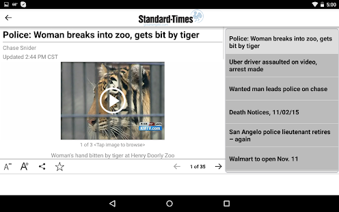 San Angelo Standard-Times- screenshot thumbnail