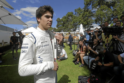 Everything to prove: Formula One rookie Lance Stroll faces the media ahead of the Australian Grand Prix in March. Picture: REUTERS