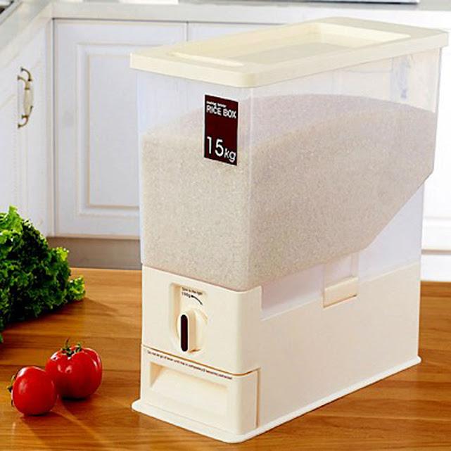 Thùng đựng gạo thông minh 15kg Hàn Quốc