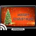 Christmas on TV via Chromecast icon
