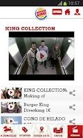 Screenshot of BURGER KING® España