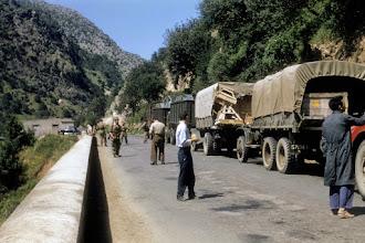 Photo: CRALAT 674 - Gorges de Palestro - 1958