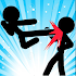 Supreme Stickman Fight Battle - Two player game