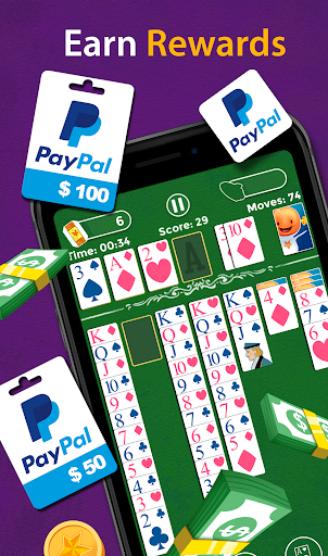Solitaire - Make Free Money and Play the Card Game 1.6.7 screenshots 4