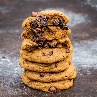 Chewy Chocolate Chip Pumpkin Cookies.